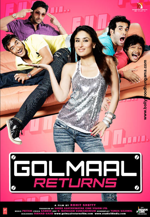 Golmaal Returns Movie Review by Sputnik