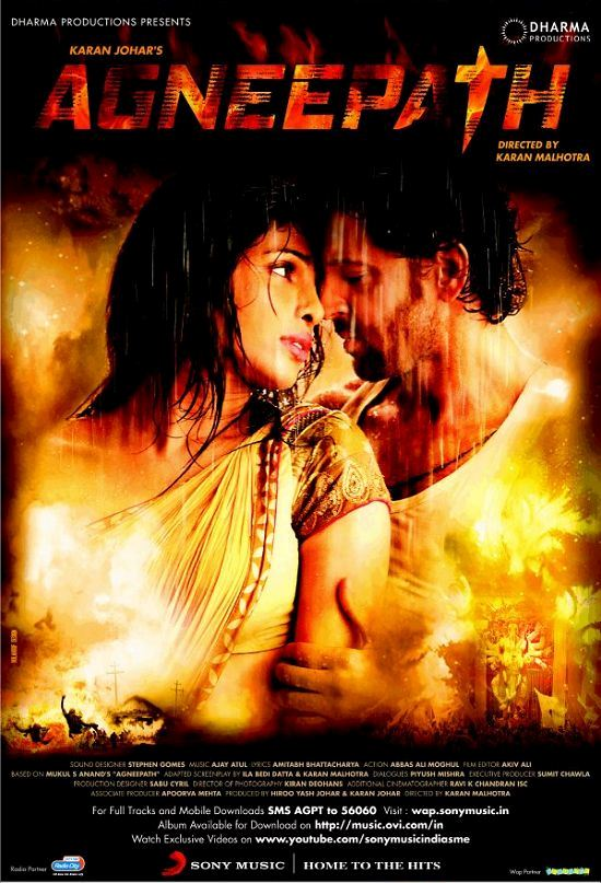 "Sanket's Review: ""Agneepath"" is not exactly satisfying, though a decent film."