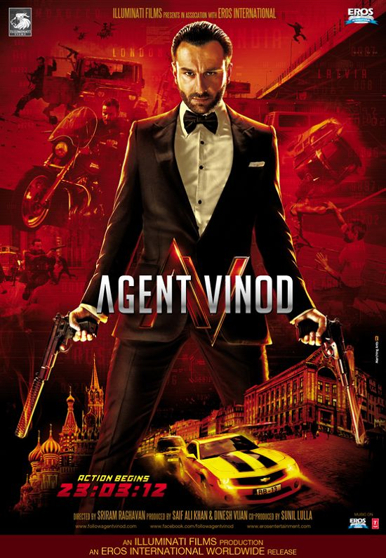 "Sanket's Review: ""Agent Vinod"" is a lazy attempt."