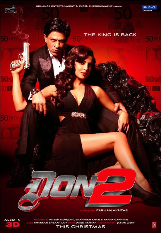 Milind's Reflections: Don 2 Review: On the fringes of Masterpiece!!