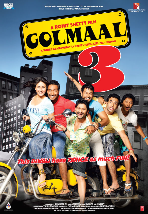 Golmaal 3 Movie Review by Sputnik
