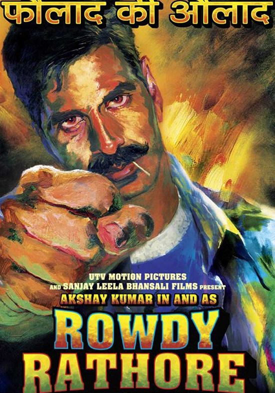 "Sanket's Review: ""Rowdy Rathore"" celebrates its bizarreness!"