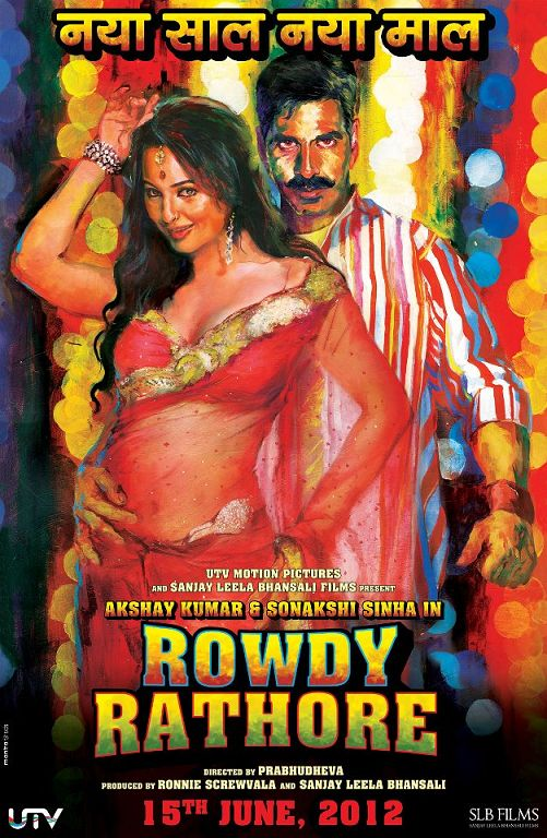 Rowdy Rathore New Poster