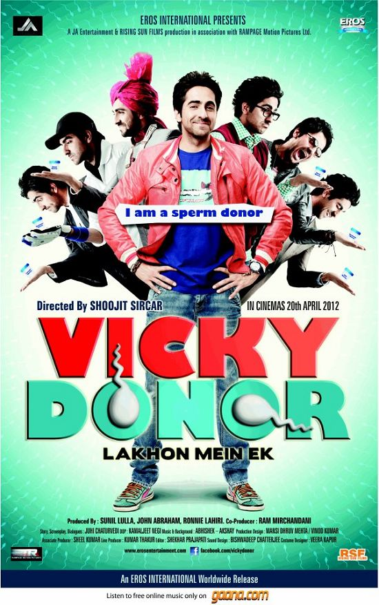 "Sanket's Review: ""Vicky Donor"" is breezy fun."
