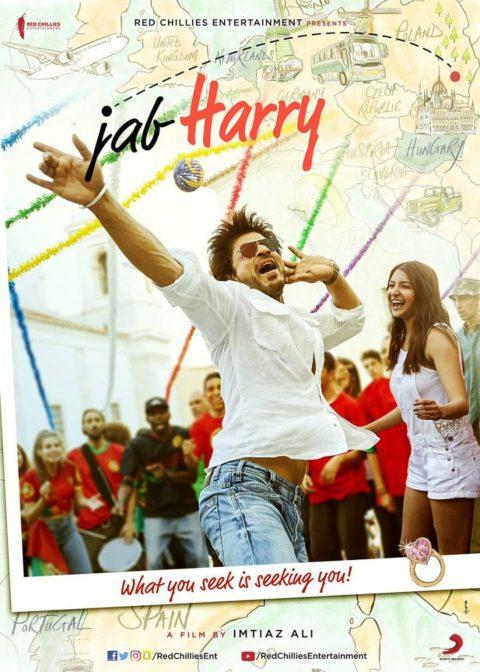 First Look Poster of Jab Harry Met Sejal starring Shah Rukh Khan, Anushka Sharma