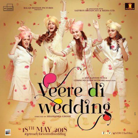 Veere Di Wedding First Look Poster starring Kareena Kapoor, Sonam Kapoor, Swara Bhasker, Shikha Talsania