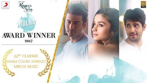 Bolna Song from Kapoor & Sons ft Sidharth Malhotra, Alia Bhatt, Fawad Khan