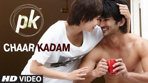 Chaar Kadam Song from PK ft Sushant Singh Rajput, Anushka Sharma