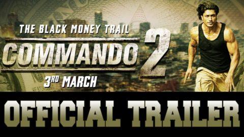 Commando 2 Official Trailer starring Vidyut Jammwal, Adah Sharma, Esha Gupta