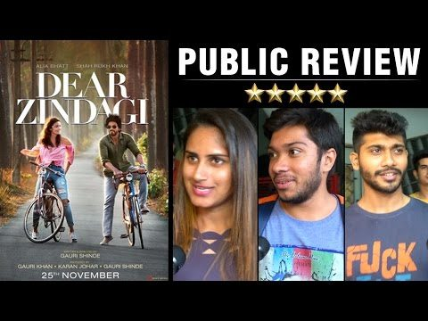 Dear Zindagi Public Reviews starring Shah Rukh Khan, Alia Bhatt