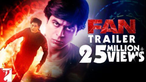 Fan Official Trailer starring Shah Rukh Khan