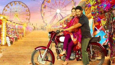 First Look Of Badrinath Ki Dulhania starring Varun Dhawan, Alia Bhatt