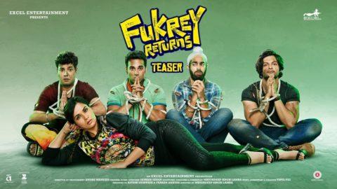 Fukrey Returns Teaser starring Richa Chadha, Pulkit Samrat, Varun Sharma, Manjot Singh, Ali Fazal