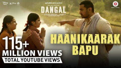 Haanikaarak Bapu Song from Dangal ft Aamir Khan