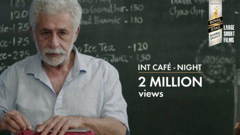 INTERIOR CAFÉ NIGHT Short Film starring Naseeruddin Shah