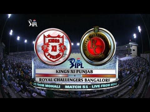 IPL: Kings XI Punjab v Royal Challengers Bangalore