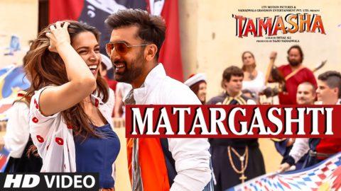Matargashti Song from Tamasha ft Ranbir Kapoor, Deepika Padukone
