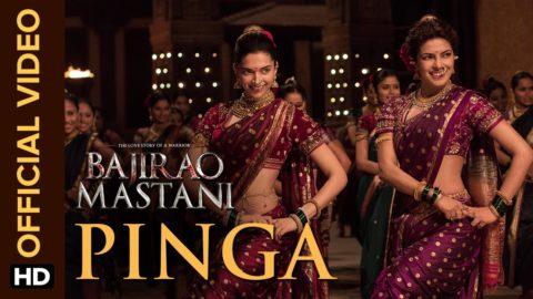 Pinga Song from Bajirao Mastani ft Deepika Padukone, Priyanka Chopra