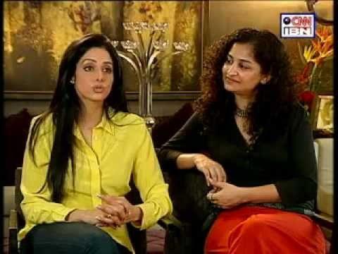 Rajeev Masand Interview with Sridevi and English Vinglish director Gauri Shinde