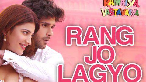 Rang Jo Lagyo Song – Ramaiya Vastavaiya