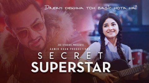 Secret Superstar Official Trailer starring Zaira Wasim, Aamir Khan