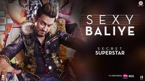 Sexy Baliye Song from Secret Superstar ft Aamir Khan