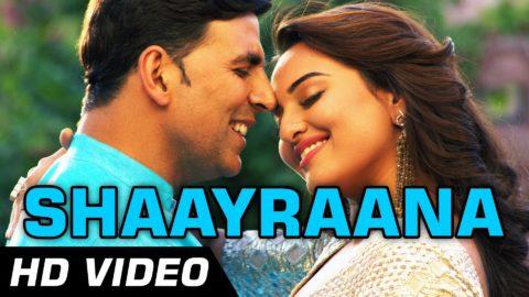Shaayraana Song – Holiday