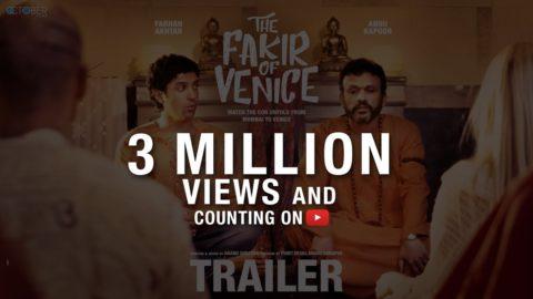 The Fakir of Venice Official Trailer starring Farhan Akhtar, Annu Kapoor