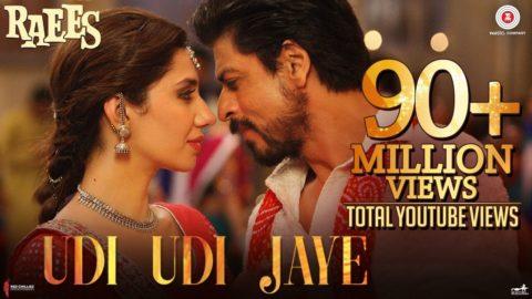 Udi Udi Jaye Song from Raees ft Shah Rukh Khan, Mahira Khan
