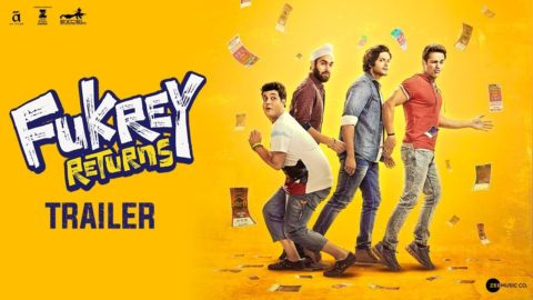 Fukrey Returns Official Trailer starring Richa Chadha, Pulkit Samrat, Varun Sharma, Manjot Singh, Ali Fazal